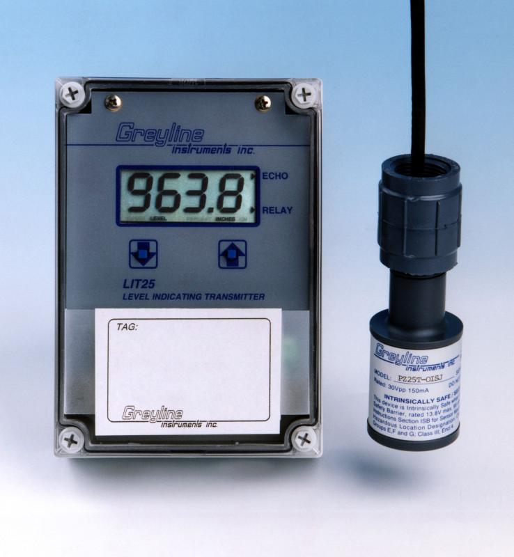Greyline Instruments LIT25 Level Transmitter p/n# LIT25-A-1-A-1-A